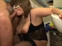 BLowjob Baltimore in the toilet