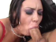 Deep Throat Gagging Chocking Cock Sucker!