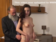 Elegant schoolgirl gets seduced and banged by older schoolteacher