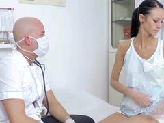 Skinny Martina B Banged By A Doctor