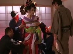 Hottest Japanese whore Miho Tachibana in Best Gangbang JAV scene