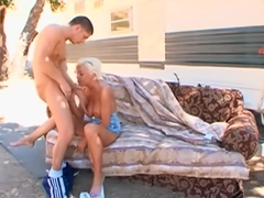 Jordan Blue trailer park slut