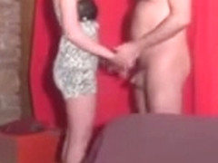 Two horny couples in one backstage clip