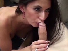 Nikki Daniels moans while she s getting pounded