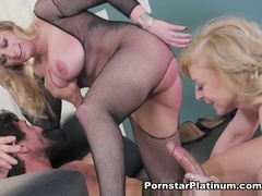 Kate Frost in Legendary Threeway Fuck Fest - PornstarPlatinum