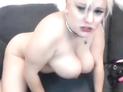 Thick Blonde Has A Lot Of Adult Toys