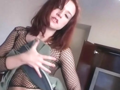 Sexy Jamielynn Doing A Lapdance