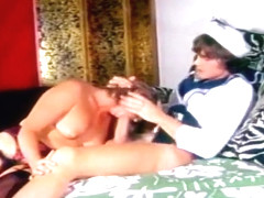 Sailor Fucks A Brunette In Her Hairy Vagina