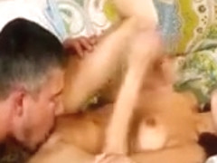Petite brunette babe Lexi Bloom oral sex and snatch pounded