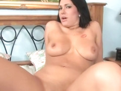 Cunning maiden Kitty Bella with big natural tits banged well