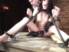 Nikki Knightly in Nikki Knightly: Girl Next Door Gone Goth is Bound and Tormented - DeviceBondage