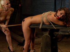 Exotic fetish, brunette xxx clip with crazy pornstars Melissa Jacobs and Lorelei Lee from Wiredpussy