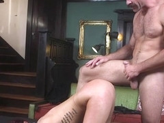 Busty pulled from basement and fucked
