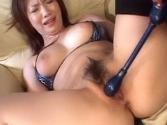 Crazy Japanese slut Nami Kimura in Amazing JAV uncensored Hairy movie