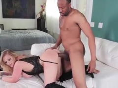Kate Frost Takes The Big Black Cock Of Jovan Jordan