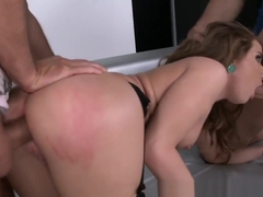 European Hottie Has Anal Sex While Sucking