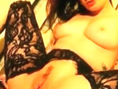 Tattooed Amateur Goth Riding Cock Before Giving Hot Blowjob