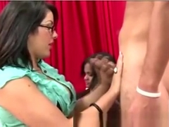 European party amateurs jerking in hot group