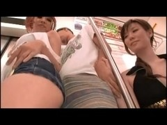 Japanese Filthy Perverted Ladies on a Train