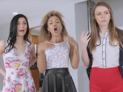 Bf Fucks All Three Girlfriends At Once