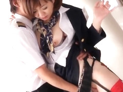 Tempting Japanese mom Sayuri Kotose getting fingered