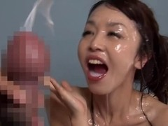 Haruki & Marika Sex With The Dude who Has Large Glans in World