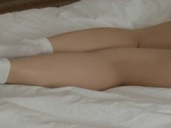 Nude sex doll's amateur sex tape scene 1