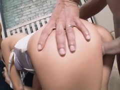 Hot Threesome Action With Ravishing Megan Coxxx