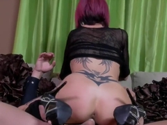 Bagging a tatted stripper PT 2 Anna Bell Peaks