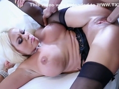 Incredible pornstar Nikita Von James in best stockings, blowjob xxx movie