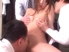 Hottest Japanese girl Yuna Mizumoto in Amazing Cunnilingus, Office JAV video