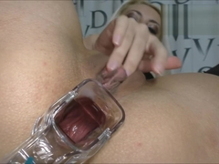 Ass insides close-up Speculum in anal (Helena Moeller)