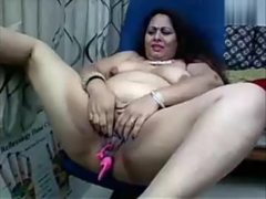 Indian Anarkali Aunty