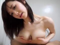 Hottest Japanese girl Mare Hannyu in Incredible POV, Big Tits JAV clip