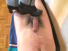 Shoes trampling and cock crush