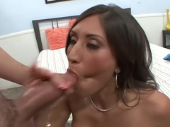 Busty brunette, Alexis Breeze got banged harder than ever before