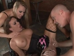 Jaclyn Case gets a fast paced fucking lesson from the master Harmony Rose