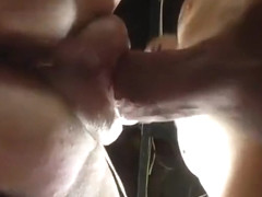 Fat pussy squirting like crazy when I shove my cock in