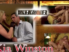 Exotic pornstar Kia Winston in hottest anal, blonde adult movie