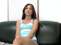 Young Alexa Rydell poses and shows her small tits