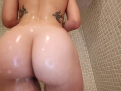 Hottest pornstar Scarlett Sawyer in Incredible Big Ass, Big Cocks sex movie