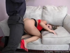 Mia Rose & Christian in Naughty Office