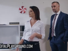 Digital Playground - Adriana Chechik Keiran Lee - A Cold Night In December Part 1