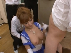 Kirara Asuka Asian teacher in gangbang sex action