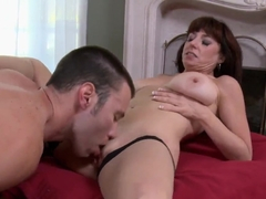 Karen Kougar getting drilled by Tim Cannon