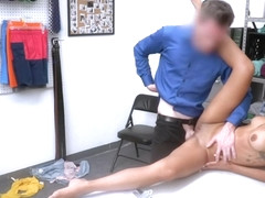 Little Latina Teen Shoplifter Fucked After Caught Masturbating In Fitting Rooms