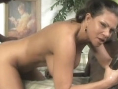One isnt not enough for Teri Weigel as she takes to milky showers