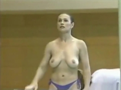 Topless Romanian Olympic Gymnasts - Part 1 Purple