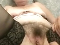 Old granny fuck youthful mate