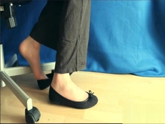 ballet flats shoeplay (oldvideo)
